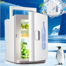 10L large-capacity car home refrigerator, mini refrigerator, heating and cooling box, portable and convenient Accessories car 7 5l 4 l car refrigerator mini home dual heating and cosmetic breast insulin refrigerated box