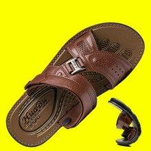 Summer Beach Sandals Waterproof Non-Slip Sandals Men's Soft Bottom Wear-Resistant Slippers Breathable Bathroom Sandals For Mens