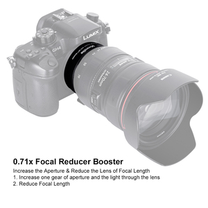Image 4 - COMMLITE CM AEF MFT Booster 0.71X Focal Reducer Booster AF Lens Mount Adapter for Canon EF Lens to Panasonic/Olympus M4/3 Camera