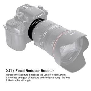 Image 4 - Commlite CM AEF MFT Booster 0.71X Focal Reducer Booster Af Lens Mount Adapter Voor Canon Ef Lens Panasonic/Olympus M4 /3 Camera