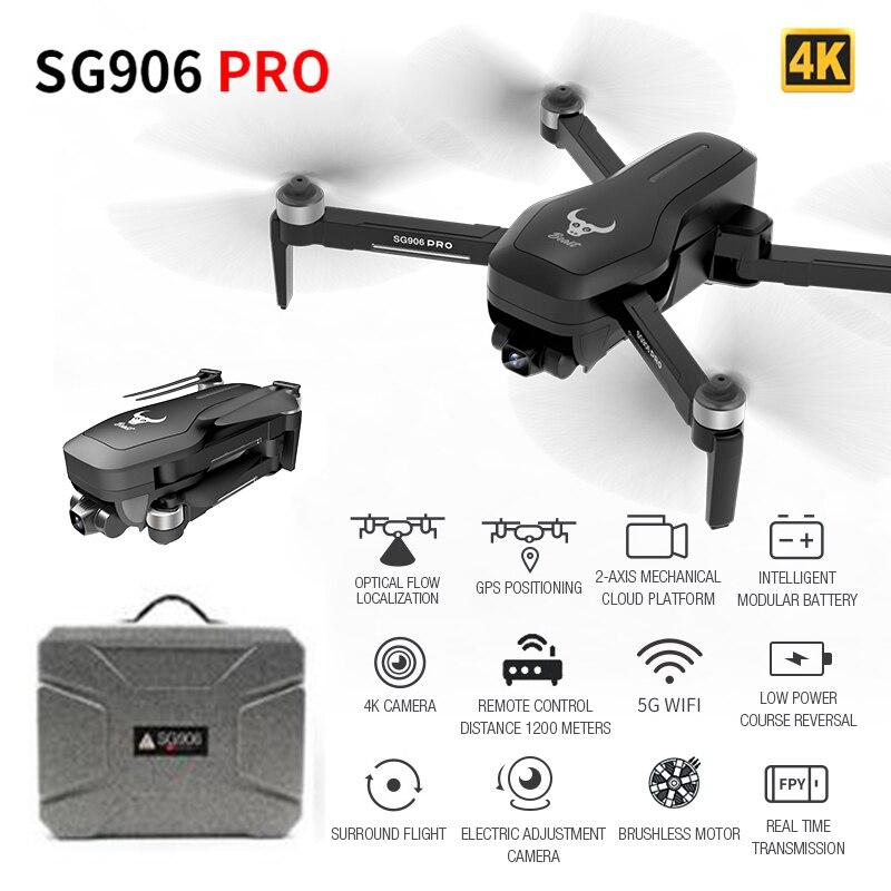 Smart GPS Drone Mit 2-achse Anti-schütteln Selbst-stabilisierung Gimbal Kamera 4K HD 5G WIFI FPV Bürstenlosen Quadcopter Unterstützung TF Karte