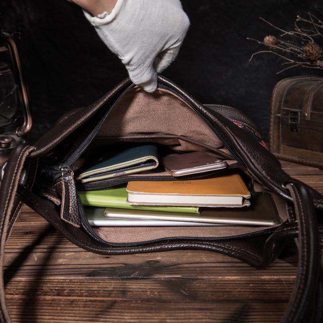 2019 100% Quality Leather Famous Brand Luxury Ladies Large Shopping handbag Shoulder bag Women female ol elegant Tote bag 233-c