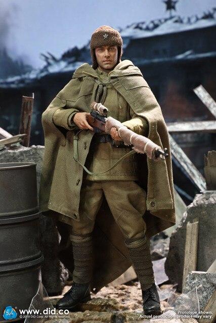 DID 10th Anniversary WWII USSR Battle Of Stalingrad 1942 Vasily Zaytsev 1/6 FIGURE R80139A