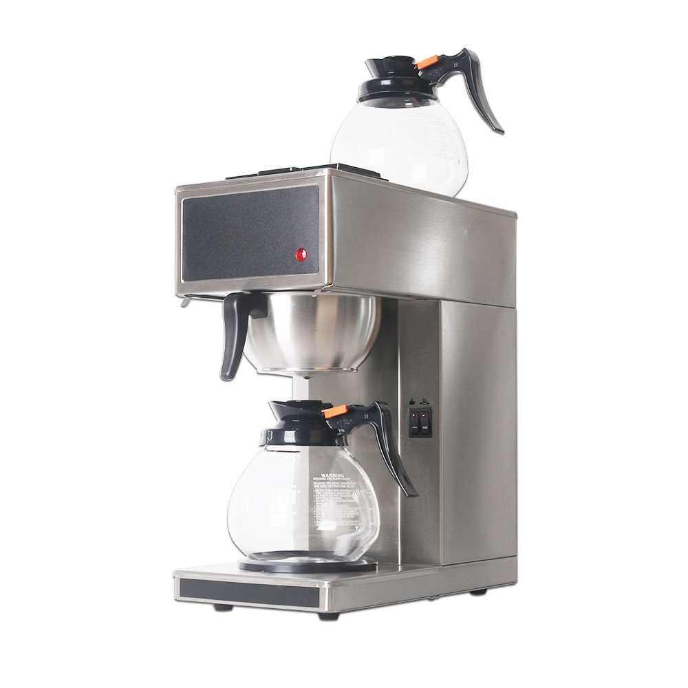 ITOP Full Stainless Steel Distilling Coffee Machines Filter Machine With Papers Commercial Maker