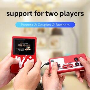 Image 5 - Handheld Game Players 500 IN 1 Retro Video Game Console Handheld Game Portable Pocket Game Console Mini Handheld Player for Kids