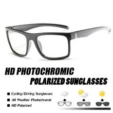 New Polarized Photochromic Women Men Outdoor Sports Glasses Bike Goggles Sunglasses de sol Masculino