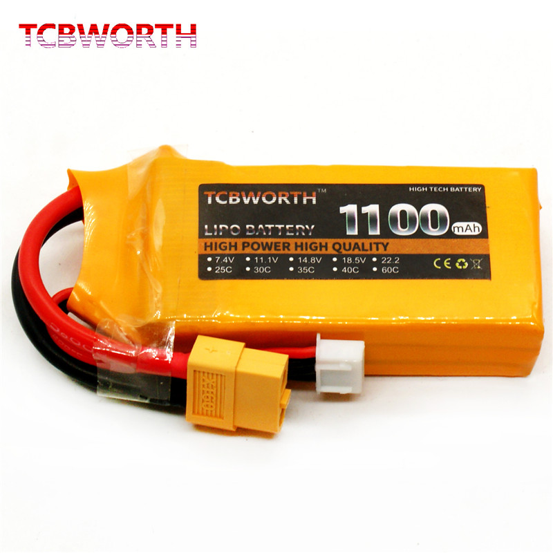 RC Toys <font><b>LiPo</b></font> Battery <font><b>3S</b></font> 11.1V 1100mAh 1500mAh <font><b>2200mAh</b></font> 3800mAh 30C 40C 60C For RC Airplane Drone Helicopter Boat image