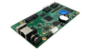 Image 4 - Huidu HD D15 HD D35 pantalla led a todo color pequeña tarjeta de control de puerta pantalla de coche pantalla de señalización