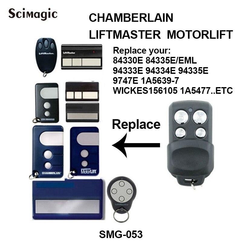 Garage Gate Door Remote For Chamberlain Liftmaster Motorlift 84330E 94330E 8747E
