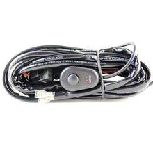 Светодиодная панель рабосветильник света кабель для автомобиля