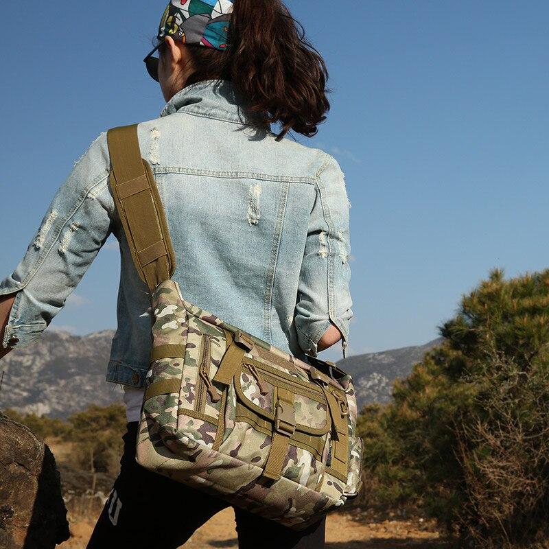 camuflagem ao ar livre saco de ombro 04