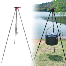 Camping Bonfire Tripod Portable Triangle Support Camping Bonfire Frame Camping Bonfire Tripod Camping Travel Hiking bonfire sword