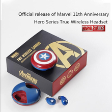 Marvel Genuine Authorization Ture Wireless Headset Blutooth 5.0 TWS Earphone In ear Headphones fone de ouvido sem fio for Sport for mobile phone in ear headphones wireless for bluetooth fone de ouvido earphone auriculares inalambrico tws headset wired sem