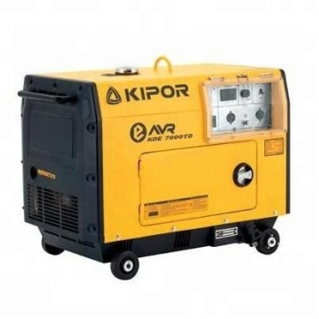 4.5KVA/5KVA Kipor KDE7000TD Soundproof Portable AVR Diesel Generator for Sale