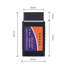 Car fault diagnosis instrument Professional Diagnostic Tool OBD2 OBD-II ELM327 V1.5 Bluetooth Car Diagnostic Interface Scanner