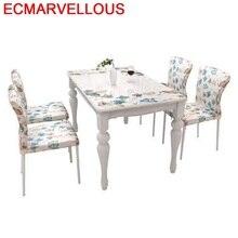 Meja Makan Redonda Escrivaninha Juego De Dinning Set Tavolo Da Pranzo Tisch A Langer Room Comedor Tablo Desk Mesa Dining Table