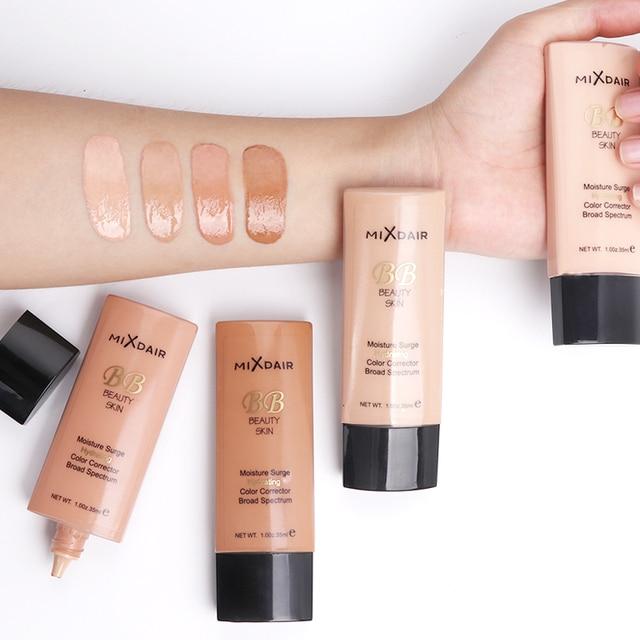 MIXDAIR Liquid Foundation Face Concealer 4 Colors Magical Makeup Base Primer BB Cream Full Cover Dark Eye Circle Hide Blemish 3