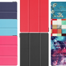 Case for Samsung Galaxy Tab S6 10.5 SM-T860 SM-T865 2019 Tablet Smart case Cover Luxury PU Fashion color