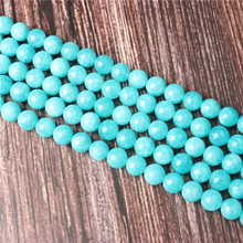 Hot Sale Natural Stone Blue Sky River Stone Beads 15.5 Pick Size: 4 6 8 10 mm fit Diy Charms Beads Jewelry Making Accessories