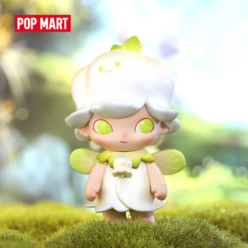 POP MART Dimoo 페어리 테일 시리즈 컬렉션 인형 소장품 귀여운 액션 카와이 동물 장난감 피규어 무료 배송