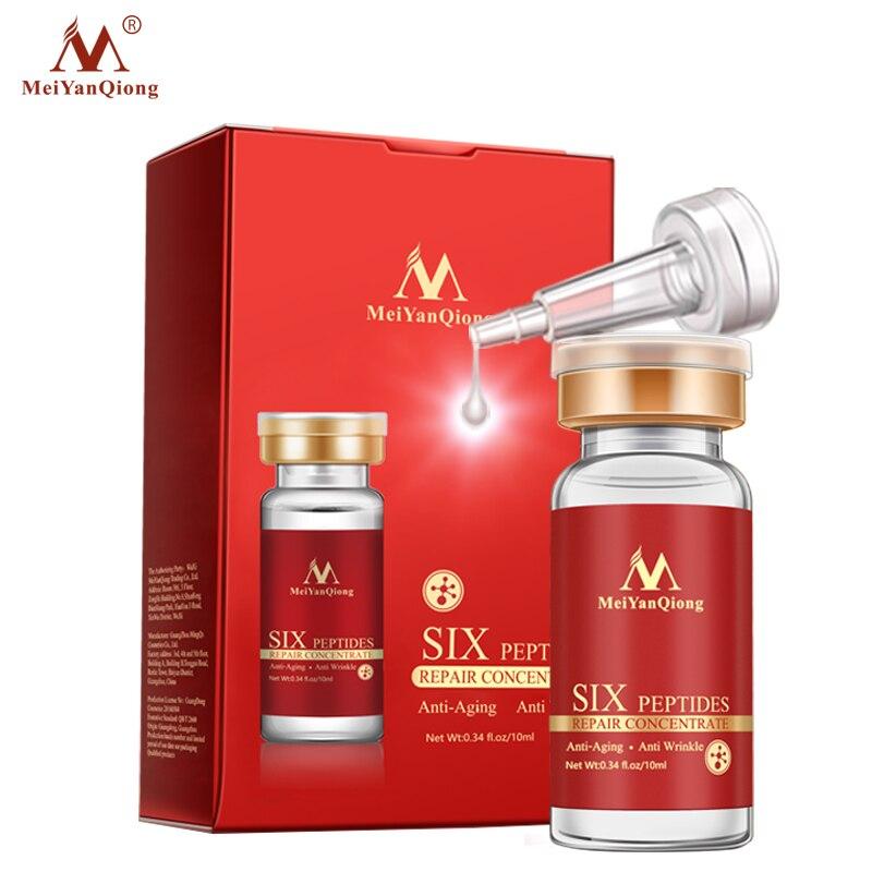 Купить с кэшбэком Argirelines+aloe vera+collagen peptides rejuvenation anti wrinkle Serum for the face skin care products anti-aging cream
