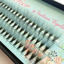 1коробка 20Д естественного искусственного норки волос шелковые ресницы толщиной 0.07 наращивание ресниц норки ресницы расширений поддельные плетки