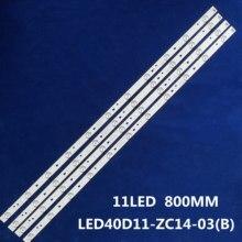 1 conjunto = 4 peças para le40f3000wx lk400d3hc34j led retroiluminação 11 lâmpadas jvc LT 40E71 (a) LED40D11 ZC14 03 (b) LED40D11 ZC14 01 30340011206