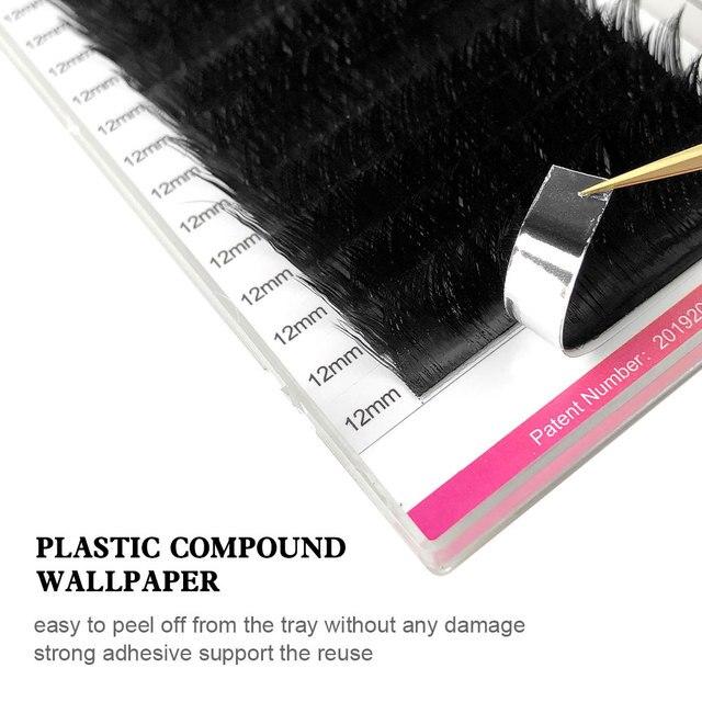 NAGARAKU Makeup V Shape Auto-Fans Eyelash Extension Volume Lashes  mega volume Cílios 0.05mm Easy-Fans Premium Natural Eyelashes 3
