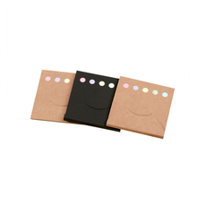 100pcs Mini Creative Kraft paper cover N times Memo Pad Sticky Notes Memo Notebook Note Paper Stickers School Supplies