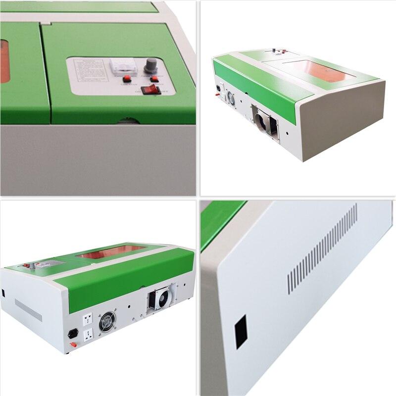 40 Вт СО2 лазерный резак лазерный гравировальный станок для металла 300x200 мм лазерный гравер переносной