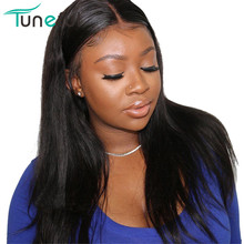 Human-Hair-Wigs Hairline Lace-Front Pre-Plucked Straight Malaysian Remy Baby 150-%