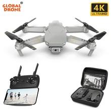 Global drone EXA kamera 4K Quadcopter Dron helikopter rc składany FPV Quadcopter Mini drony z kamerą hds postawy polityczne w E58 SG901 E520 tanie tanio Global Funhood Metal Gumy Z tworzywa sztucznego Żywica 3 x 1 5 AAA battery (NOT Included) 28*20*5cm Silnik szczotki Remote Controller