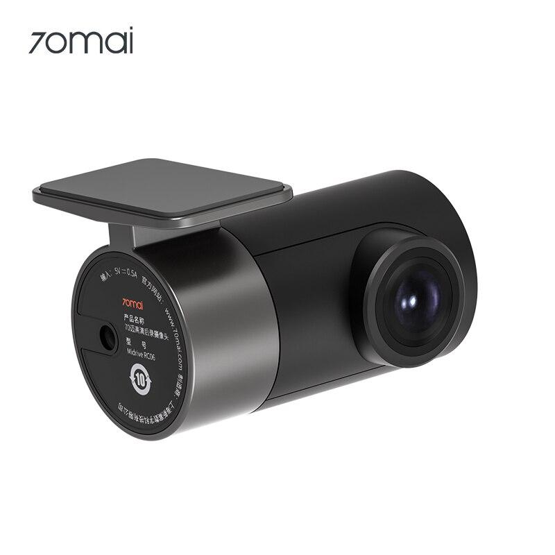Tylna kamera 70mai RC06 Full HD 1920x1080 dla 70mai A800 kamera samochodowa 4K Ultra HD Dual-Vision Camera