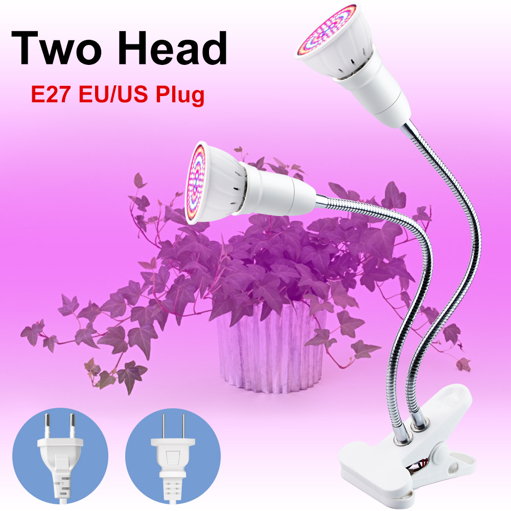 LED Grow Light Weed Grow Kit Degrees Flexible Lamp Clip LED Plant Growth Light 3W 5W 7W 15W 20W Hydroponic Grow Box Grow Tent