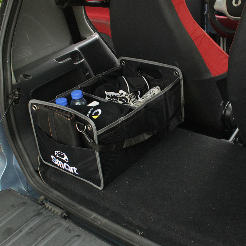 Car Storage Organizer Trunk Storage Container Bags Box for Smart Fortwo Forfour 453 451 450 452 Cabrio City-Coupe Accessories