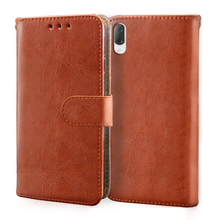 цена на Luxury Leather Flip Case For Sony Xperia 1 10 L3 E5 L1 L2 L3 R1 Plus Case Wallet Cover For Sony L3 Card Slot Phone silicone