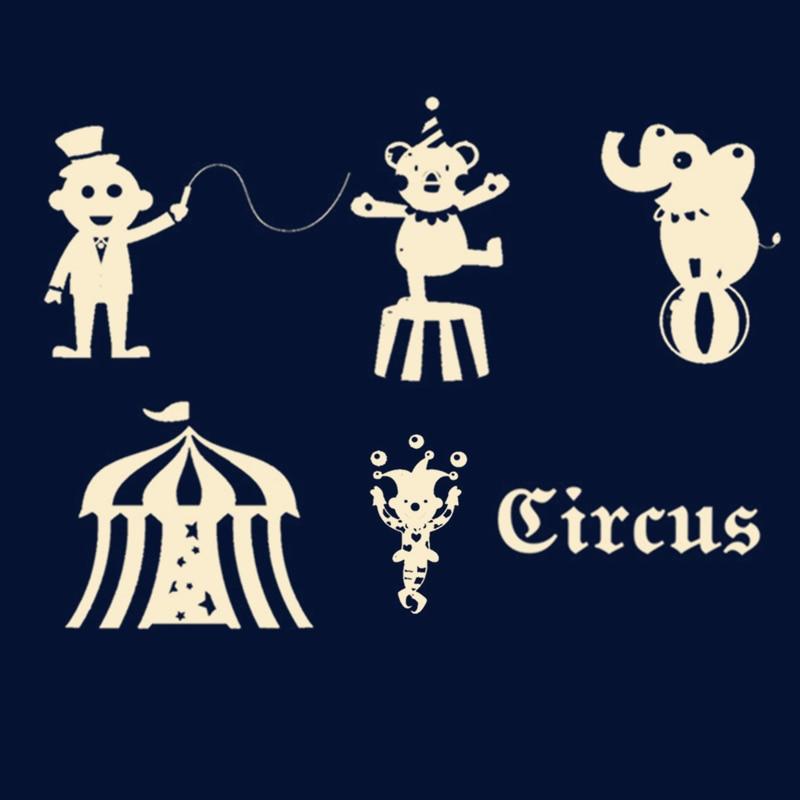 Kokorosa Circus Dies Clown Metal Cutting Dies Stencils For DIY Scrapbooking Decoration Embossing Handcraft Die Cut New 2019