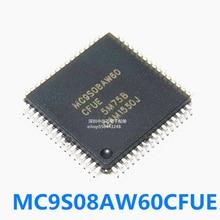 Free shipping 5PCS MC9S08AW60CFUE QFP-64 QFP MC9S08AW60 QFP64 SMD  Brand new original 5pcs brand new kb926qf d2 qfp 128 chip chipset graphic ic