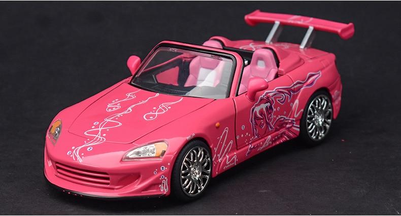 1:24 modelo de carro esportivo em miniatura