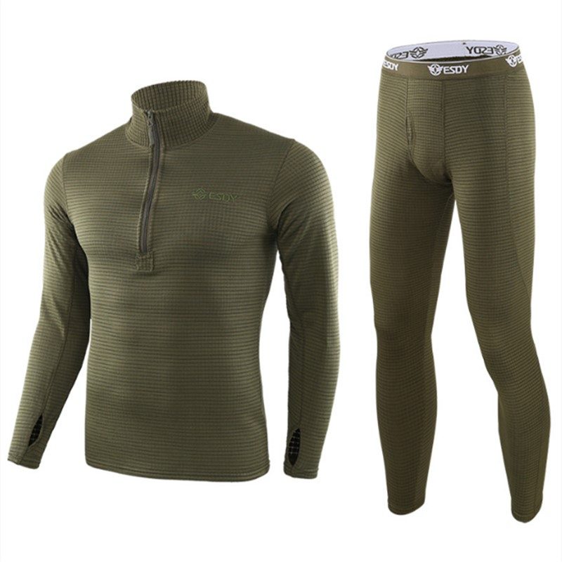 New Thermal Underwear Sets For Men Winter Long Sleeve Thermo Underwear Long Winter Clothes Men Motion Thick Thermal Clothing XXL