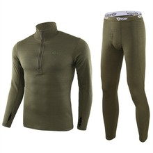 New Thermal Underwear Sets For Men Winter Long sleeve Thermo Clothes motion Thick Clothing XXL