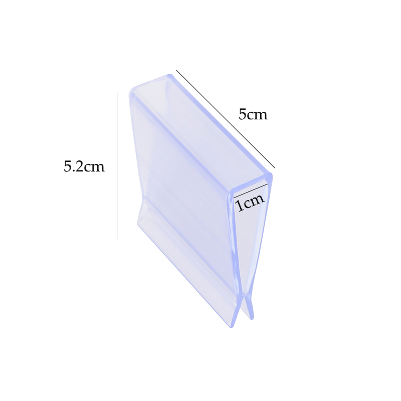 Carton Big Clip Plastic Pvc Clamp Display Construction U Snap Store Supermarket Display Fittings