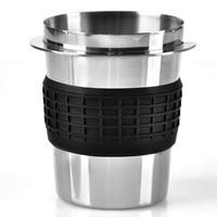 Novo aço inoxidável café em pó de dose de precisão copo para ek43 moedor acessório copo dose fr casa diy ferramentas|Escovas para moedor| |  -