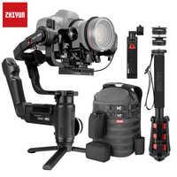 Zhiyun Crane 3 Lab Crane 2 Upgrade Version 3-Axis Gimbal Stabilizer for DSLR Cameras, 1080P Full HD Wireless Image Transmission