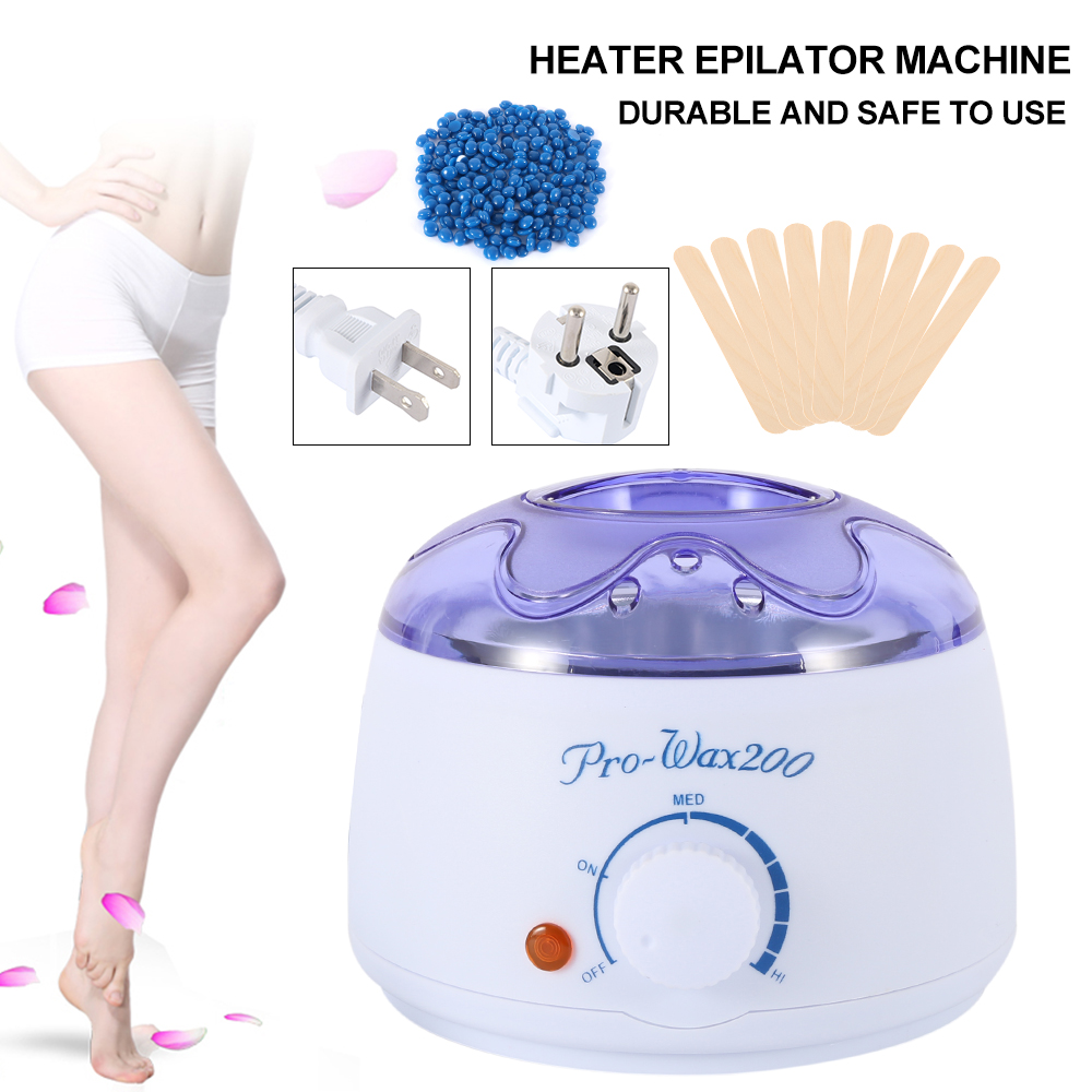 Paraffin Hand Wax Machine Hot Paraffin Wax Warmer Heater Body Depilatory Electric Salon Spa Hair Removal Tool Wax Depilation