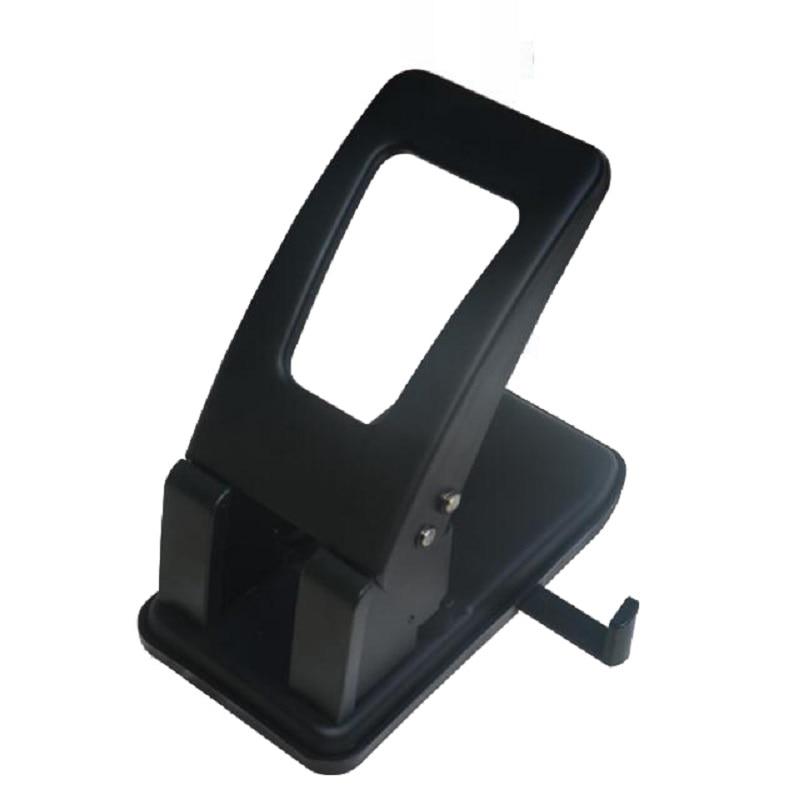 2-Hole Heavy Duty Punch; 6mm Holes, 80mm Hole Distance, 100-Sheet Capacity, Less Force Hole Puncher Perfurador de Papel Grande