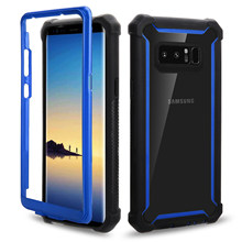 Baju Mewah Shockproof Ruang Case untuk Samsung Galaxy S10P S8plus S9 S9plus S10 S10e Note8 Note9 Shell dan Transparan Case(China)