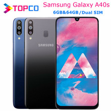 Samsung Galaxy A40s Original 4G LTE Móvel Android Telefone Octa Core 6.4