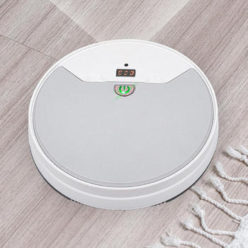 Intelligent Robot Vacuum Cleaner USB Charging Multifunction 1800PA RC Sweeper Remote Control with Wet Mop Household Cleaning imass a3 intelligent cleaning robot sweeper robotic multifunction automatic vacuum cleaner with mopping cloth clean tool