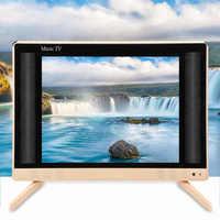24 Inch High Definition LCD TV mit Fernbedienung Tragbare Mini Tv Smart TV mit Bass Sound Qualität 110-240V